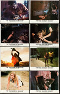 """Movie Posters:Horror, The Texas Chainsaw Massacre (Bryanston, 1974). Autographed Lobby Card Set of 8 (11"""" X 14"""").. ... (Total: 8 Items)"""