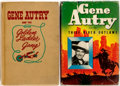 Books:Children's Books, [Gene Autry]. Two Books Featuring Movie Star Gene Autry as theProtagonist. Racine: Whitman, [1944, 1950]. Publisher's bind...(Total: 2 Items)