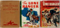 Books:Children's Books, [The Lone Ranger]. Fran Striker. Three Lone Ranger Books. New York:Grosset & Dunlap, [1936, 1938, 1941]. Reprints. Publishe...(Total: 3 Items)