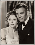 "Movie Posters:Drama, Walter Huston and Ruth Chatterton in Dodsworth by Kenneth Alexander(United Artists, 1936). Portrait Photo (10.75"" X 13.75"")..."