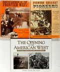 Books:Photography, [The American West in Photographs]. Three Books Related to Photographs of the American Frontier. Various publishers and date... (Total: 3 Items)