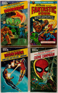 Books:Comics - Golden Age, [Stan Lee]. Four Marvel Pocket Comics Books. Features the FantasticFour, Ironman, et al. Printed wrappers. Near fine. ... (Total: 4Items)