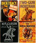 "Books:Children's Books, [Kit Carson, Dick Tracy, Zane Grey]. Group of Four Big LittleBooks. Various publishers, 1936-1946. Small format, 3,5"" x...(Total: 4 Items)"
