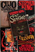Books:Horror & Supernatural, Stephen King. Group of Five First Trade Editions. Various publishers, 1981 to 1987. Includes Christine, The Talisman, Cujo... (Total: 5 Items)