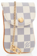 Luxury Accessories:Accessories, Louis Vuitton Damier Azur Canvas Phone Case. ...