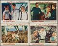 "Movie Posters:War, The Sea Chase (Warner Brothers, 1955). Lobby Cards (4) (11"" X 14"").War.. ... (Total: 4 Items)"