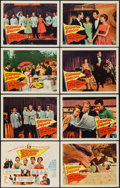 """Movie Posters:Musical, Senior Prom (Columbia, 1958). Lobby Card Set of 8 (11"""" X 14""""). Musical.. ... (Total: 8 Items)"""