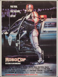 "Movie Posters:Action, RoboCop (Orion, 1987). Bus Shelter (45"" X 60"") Advance. Action....."