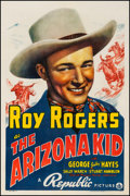 "Movie Posters:Western, The Arizona Kid (Republic, 1939). One Sheet (27"" X 41""). Western.. ..."