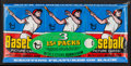 Baseball Cards:Unopened Packs/Display Boxes, 1977 Topps Baseball Unopened 15-Cents Wax Tray Pack. ...