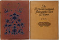 Books:Photography, Group of Two Photograph Books on Japan. Includes Japan Photographic Journal and The Fifth International Photographic S... (Total: 2 Items)