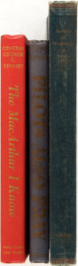 Books:Americana & American History, [WWII, Civil War]. Three Books Offering Critical Analysis ofAspects of WWI and the Civil War. Includes a first edition copy...(Total: 3 Items)