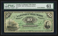 Canadian Currency: , Montreal, PQ- La Banque Ville Marie Jan. 2, 1889 10 Piastres Ch. #785-14-04FP. ...