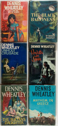 Books:Mystery & Detective Fiction, Dennis Wheatley. Group of Six First Editions. London: Hutchinson,1961-1967. The Black Baroness is New York: MacMillan, ...(Total: 6 Items)