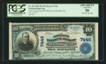 National Bank Notes:District of Columbia, Washington, DC - $10 1902 Plain Back Fr. 624 The Commercial NB Ch. # 7446. ...