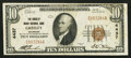 National Bank Notes:Colorado, Greeley, CO - $10 1929 Ty. 1 The Greeley NB Ch. # 4437. ...