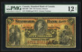 Canadian Currency: , Toronto, ON- Standard Bank of Canada $5 May 1, 1891 Ch. #695-14-08. ...