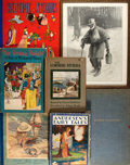 Books:Children's Books, Group of Five Illustrated Children's Books, Accompanied by a Framed Print by E.W. Kemble and a Facsimile Manuscript by Swinbur... (Total: 7 Items)