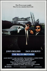 "The Blues Brothers (Universal, 1980). One Sheet (27"" X 41"") Flat Folded. Comedy"