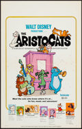 "Movie Posters:Animation, The Aristocats (Buena Vista, 1971). Window Card (14"" X 22""). Animation.. ..."
