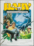 "Movie Posters:Adventure, Baby: Secret of the Lost Legend (Buena Vista, 1985). French Grande(47"" X 62""), One Sheet (27"" X 41""), & Program (9"" X 12"")....(Total: 3 Items)"