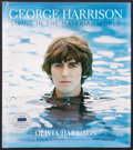 """Miscellaneous Collectibles:General, Olivia Harrison Signed Hardcover """"George Harrison Living in theMaterial World"""" Book...."""