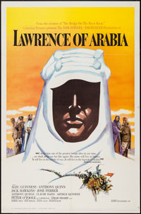 "Lawrence of Arabia (Columbia, 1962). Roadshow One Sheet (27"" X 41"") Style B. Academy Award Winners"