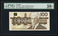 Canadian Currency: , BC-60aA-i $100 1988 Replacement Note AJX Prefix. ...