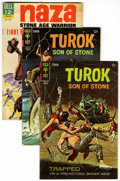 Silver Age (1956-1969):Adventure, Turok, Son of Stone and Naza Group (Dell/Gold Key, 1964-76) .... (Total: 8 Comic Books)