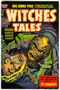 Golden Age (1938-1955):Horror, Witches Tales #21 (Harvey, 1953) Condition: VF....