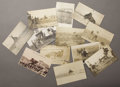 Photography:Cabinet Photos, LOT OF ELEVEN RODEO AND COWBOY REAL PHOTO POSTCARDS - ca.1905-1925. This lot has a focus on the rodeo cowboy and features... (Total: 1 Item)