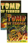 Golden Age (1938-1955):Horror, Tomb of Terror #10 and 12 Group (Harvey, 1953) Condition: AverageFN-.... (Total: 2 Comic Books)