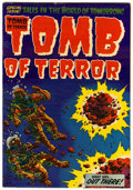 Golden Age (1938-1955):Horror, Tomb of Terror #13 (Harvey, 1954) Condition: VF-....