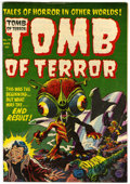Golden Age (1938-1955):Horror, Tomb of Terror #14 (Harvey, 1954) Condition: VF-....