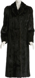 """Movie/TV Memorabilia:Costumes, Nicole Simpson's Fur Coat. This luxurious mink was owned and wornby Nicole Simpson. She called it her """"lucky"""" fur and wore ...(Total: 1 Item)"""