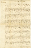 "Autographs:Statesmen, George Read Autograph Document Signed ""Geo: Read,"" twopages, 8"" x 13"", front and verso. Kent County, November 1773.Geo... (Total: 1 Item)"