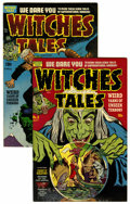 Golden Age (1938-1955):Horror, Witches Tales #3 and 18 Group (Harvey, 1951-53) .... (Total: 2Comic Books)