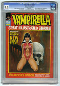 Magazines:Horror, Vampirella 1972 Annual (Warren, 1972) CGC VF 8.0 Off-white to white pages....