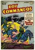 Golden Age (1938-1955):War, Boy Commandos #23 (DC, 1947) Condition: VG+....