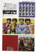 "Music Memorabilia:Memorabilia, Beatles and Beatles-Related Album Slicks Group of 13. Included areslicks of the following: ""A Hard Day's Night"" stereo cove...(Total: 1 Item)"