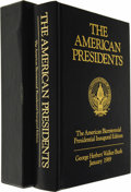 Autographs:U.S. Presidents, George H. W. Bush and Barbara Bush: Signed Specially Bound andCased Edition of David C. Whitney's The American Presiden...