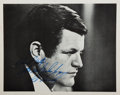 Autographs:Statesmen, Ted Kennedy (1932-2009, US Senator) Photograph Signed. Ca. 1976. Black and white. Measures 8 x 10 inches. Very good. . ...