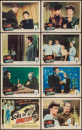 "Movie Posters:Horror, The Soul of a Monster (Columbia, 1944). Lobby Card Set of 8 (11"" X 14""). Horror.. ... (Total: 8 Items)"