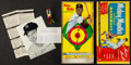 Baseball Collectibles:Others, 1957 Mickey Mantle Signed Board Game....