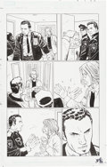Original Comic Art:Panel Pages, John Romita, Jr. and Klaus Janson Amazing Spider-Man #585 Page 7 Original Art (Marvel, 2009)....