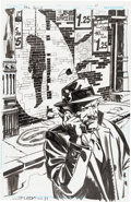 Original Comic Art:Splash Pages, John Paul Leon The Spirit #16 Dolan Splash Page 11 OriginalArt (DC, 2011)....