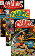 Bronze Age (1970-1979):Horror, Creatures on the Loose #10-37 Group (Marvel, 1971-75) Condition:Average FN.... (Total: 79 Comic Books)