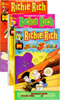Bronze Age (1970-1979):Cartoon Character, Richie Rich and Jackie Jokers File Copy Group (Harvey, 1973-82)Condition: Average NM-.... (Total: 104 Comic Books)