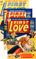 Golden Age (1938-1955):Romance, First Love Illustrated File Copy Group (Harvey, 1949-63) Condition:Average FN+.... (Total: 75 Comic Books)