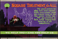 """Square Treatment for All (Mather and Company, 1923). Motivational Poster (28"""" X 41.5""""). Miscellaneous"""